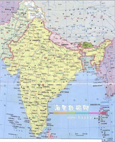 不丹与中国 印度接壤 不丹位置地图